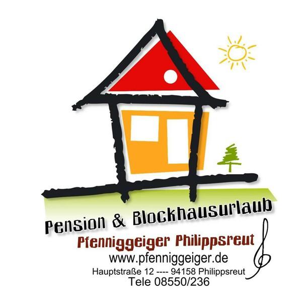 """Pension """"Zum Pfenniggeiger"""" Logo"""